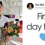 Guy Discovers That Welcoming Flowers He Received On His First Day Of Work Weren't Meant For Him, And His Story Goes Viral