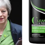 The Internet Is Busy Comparing Theresa May With Tresemmé Shampoo Bottles And You Can See Why (9 Pics)