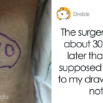 Doctors Postpone Guy's Surgery Because They Needed Time To Stop Laughing After Finding All Of His Body Drawings