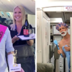 Artist Takes Photos On The Plane To Mock Horrible Passengers