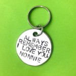 Always remember I love you – Keychain Gift