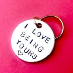 I love being yours Keychain – Christmas gift for husband – gifts for men