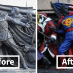 Bulgarians Keep Vandalizing This Soviet Red Army Monument By Giving It Makeovers