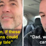 Dad Tries To Share Inspirational Story About Growing Up, His Kids Are Having None Of It