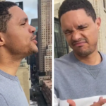 Trevor Noah Tried Singing From A Balcony In New York And It Didn't Go Well