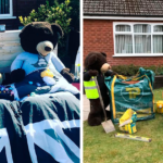 Person 'Puts His Teddy Bears To Work' In His Yard To Cheer Up The Neighborhood During The Pandemic (21 Pics)