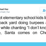 Retired Marine Teaches PE In His Backyard For Homeschooled Neighborhood Kids Using Fun Cadence Calls