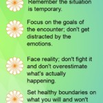 Do you have trouble handling difficult people and negative situations?  Read our post that features 9 great strategies that will help you handle negative situations  with less stress and anxiety, and more success!   | handling emotions in negative encounters, how to keep negative people from making you negative, why setting boundaries is important, staying positive in the face of negativity; negative emotions, difficult emotions, control emotions, focus, mindset, positive mindset, positivity