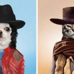 I Created These Edits Of Animals As Celebrities To Help Them Find Homes (20 Pics)