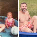 My Brother & I Celebrated Our Mom's 70th Birthday By Recreating Childhood Photos