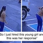 21 Y.O. Homeless Woman Is So Happy She Got A Job After Months of Looking, She Dances Like Nobody's Watching, Gets Caught On CCTV