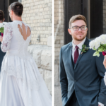 Funny Best Man Gives Groom A Wedding Day First Look To Remember