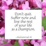 suffer quote