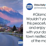 Chinese State-Owned Media Tries To Promote China Using A Video Of The Swiss Alps